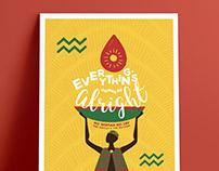 A Tear of Hope - International Reggae Poster Contest