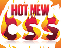 Hot New CSS lettering