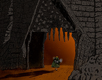 Sam Enters Cirith Ungol: The Lord of the Rings