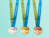 Toronto 2015 Pan Am/Parapan Am Games Athlete Medals