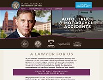 Thompson Law Firm - web design