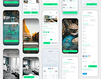 Vesta - Travel Booking UI Kit