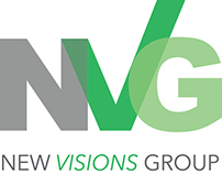 New Visions Group logo re-design
