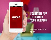 iHeat for Heating Radiators // UI/UX Design