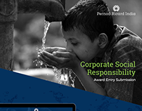 Pernod Ricard India - CSR Award Presentation