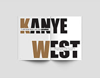 Kanye West (Magazine Spread)