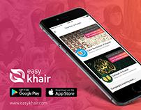 Easy Khair - Charity App