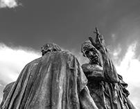 Les bourgeois de Calais par Rodin