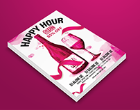 Happiesta - Happy Hour Flyers Design