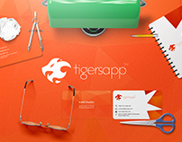 Tigersapp branding design