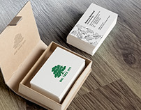 Big Tree Inn Business Card Design