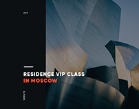 Moscow development company. Tverskaya residence website