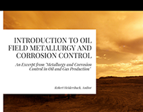 An Intro to Oil Field Metallurgy and Corrosion Control