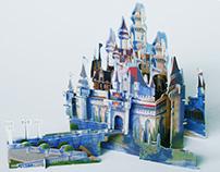 Shrek Casttle 3d Puzzle