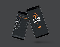 SONG DUEL Interface Design