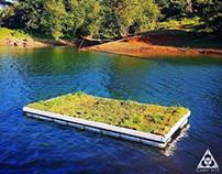 Floating Camp Site - Floating Garden Dock!