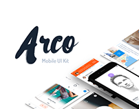 Arco - Mobile UI Kit