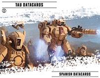 TAU | Fan Art Datacards [SPANISH]