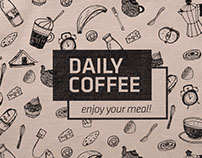 Daily Coffee identity