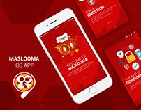 Ma3looma - iOS app