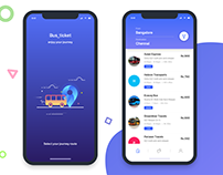 bus ticket | redesign app