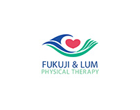 Fukuji and Lum Physical Therapy Logo and Branding