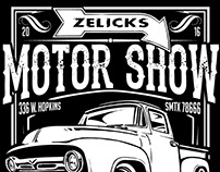 Poster Design: Zelicks Motor Show