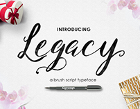 Legacy Brush Script