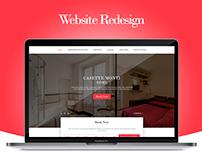 Casette Monti Apartments l Website redesign