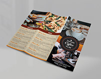 Tri Fold Coffee / Cafe Menu TEMPLATE