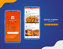 Social Yummy - App Design