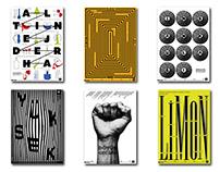 'DOT Tiyatro' Alternatif Poster Tasarımı