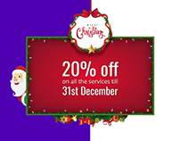 Christmas Offer Page for Mind Inventory Website