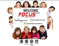 Focus ad campaign design