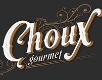 Typography Logo !! Choux Gourmet