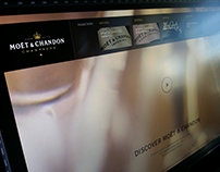 Moet & Chandon Webdesign WIP