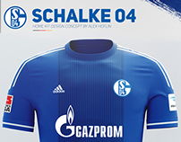 FC Schalke 04 Home Kit Design