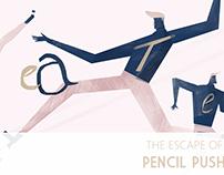 Pencil Pushers | C-R-E-A-T-E