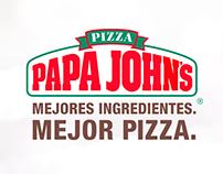 PAPA JOHN'S - Campañas Principales