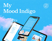 My Mood Indigo | Digital Product Design