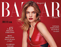 Hair : C.Ribeiro - Talent : Natalia Vodianova