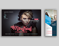 Fashion Flyer and Roll Up Banner