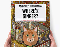 Where's Your Cat/Dog? Meowtown: Personalised Book