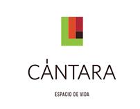 Logo para desarrollo arquitectónico Cántara