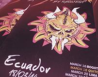 Metallica by request Ecuador