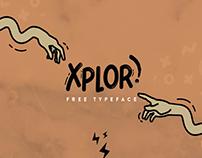 The Beautiful FREE Xplor Typeface