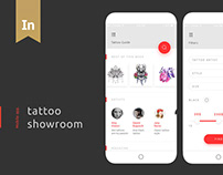 Tattoo showroom