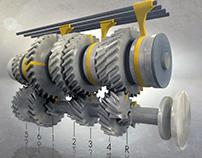 6-speed transmission gear ratios