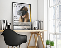 Poster for Virtual Reality Event