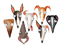 Whippet character